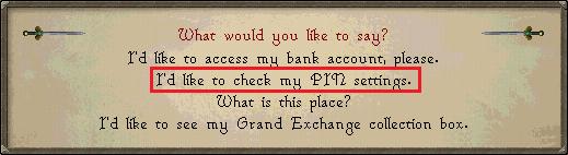 Bank PIN Pin1