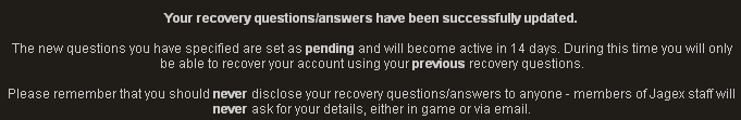 Nastavenie Recovery Questions Recovery5